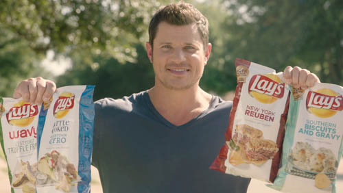"""Lay's & Nick Lachey Reveal """"Do Us A Flavor"""" Finalists"""