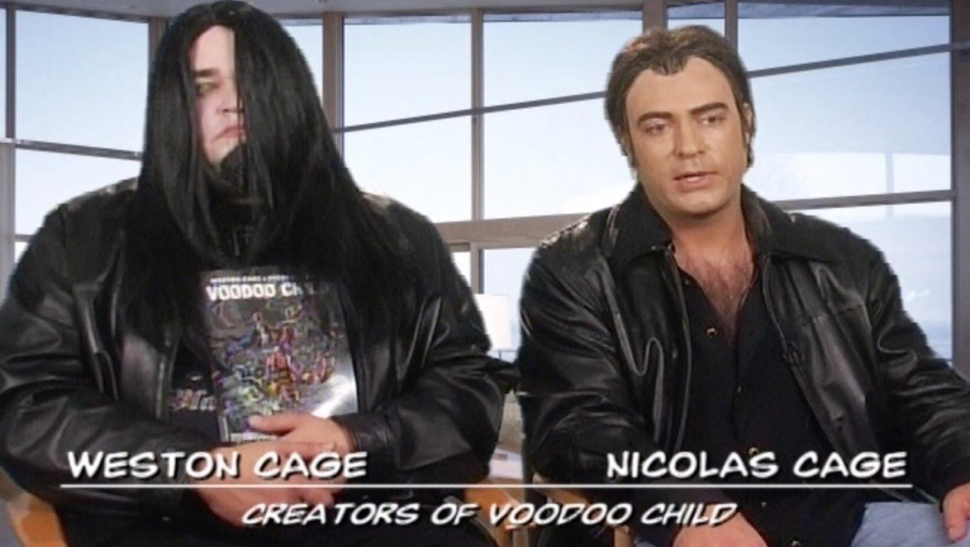 Nic & Weston Cage's 'Voodoo Child'