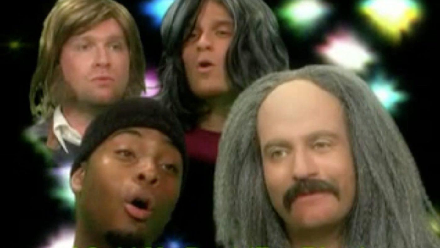 Crosby, Stills, Nash, & Usher (w/ Kel Mitchell)